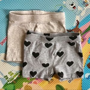 🆕 3/$20 Gap Kids | bundle of 2 short tights 3T